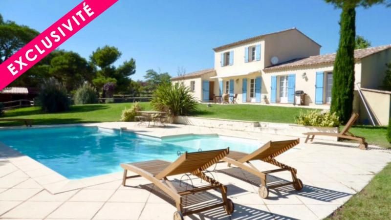 Deluxe sale house / villa Lambesc 745000€ - Picture 1