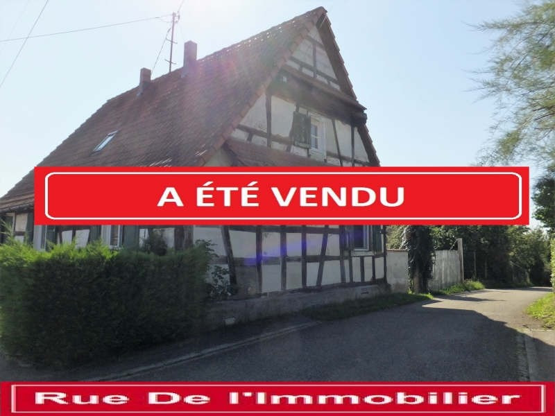 Sale house / villa Froeschwiller 117700€ - Picture 1