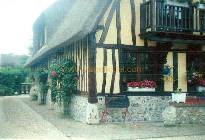 Lijfrente  huis Blacqueville 105000€ - Foto 4