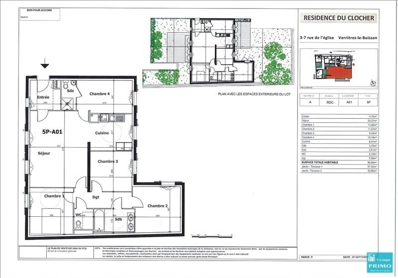 Vente appartement Verrieres le buisson 599000€ - Photo 2