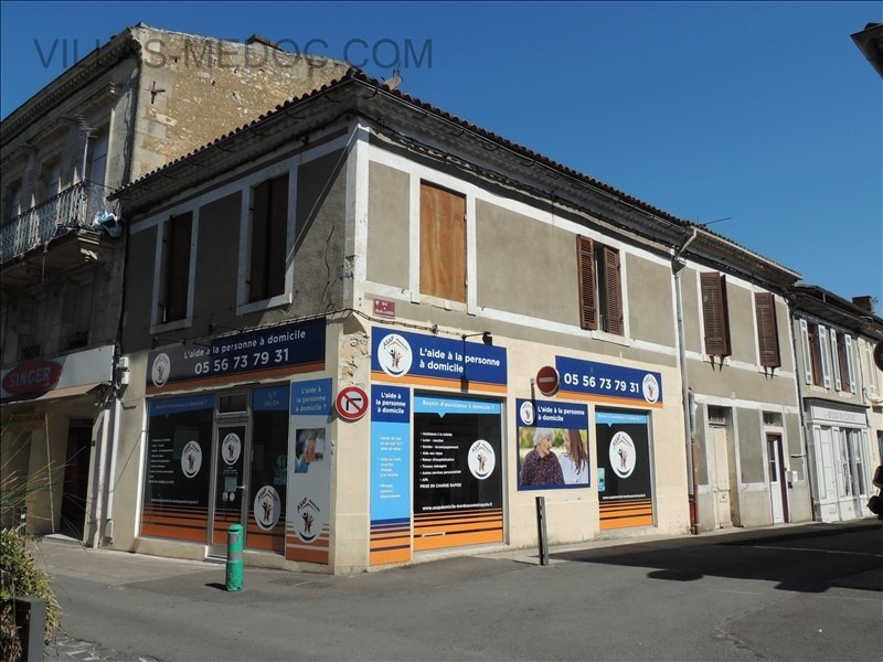 Produit d'investissement immeuble Lesparre medoc 159500€ - Photo 1