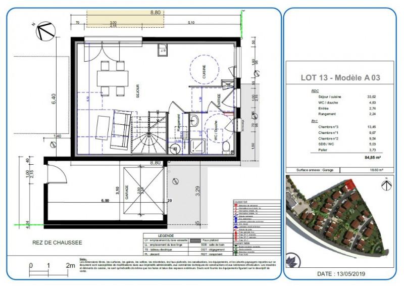 Sale house / villa L isle d'abeau 252000€ - Picture 2