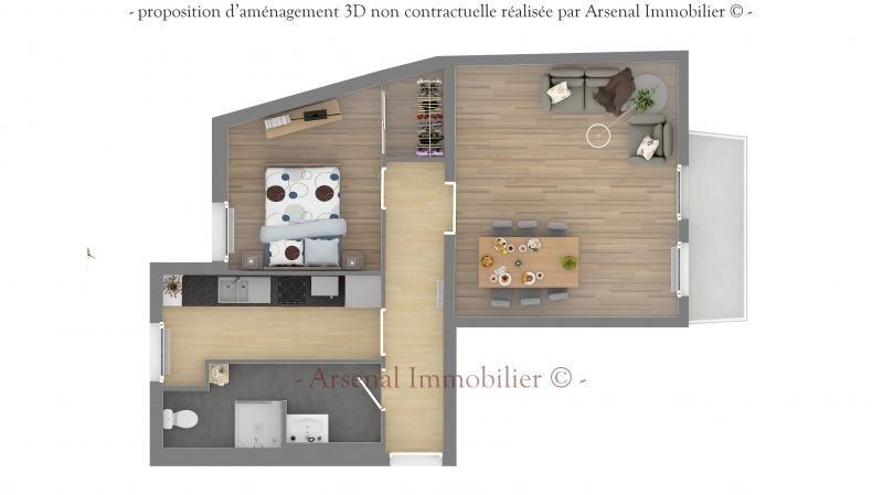 Venta  apartamento Metz 119500€ - Fotografía 3