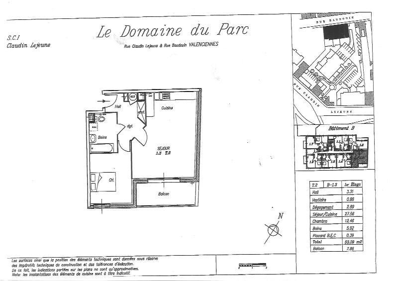 Location appartement Valenciennes 610€ CC - Photo 2