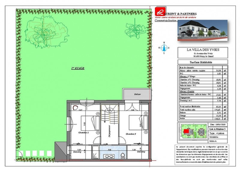 Vente maison / villa Noisy le grand 350000€ - Photo 16