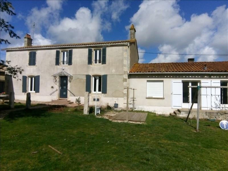 Vente maison / villa Cherveux 199500€ - Photo 1
