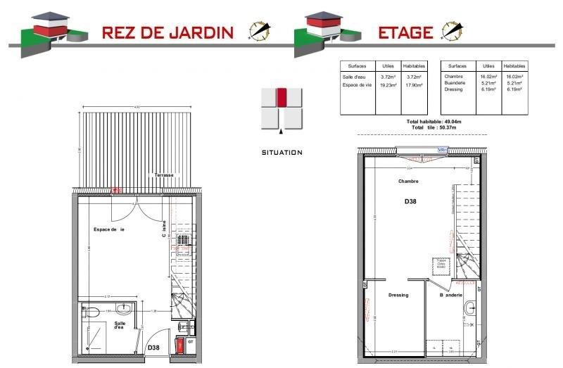Vente maison / villa Jons 173000€ - Photo 5