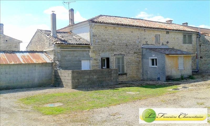 Sale house / villa Aigre 108000€ - Picture 2