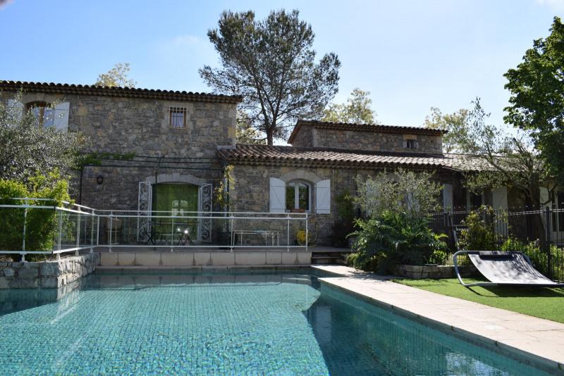 Revenda residencial de prestígio casa Fayence 680000€ - Fotografia 1