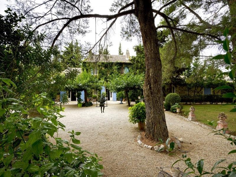 Immobile residenziali di prestigio casa Saint-rémy-de-provence 1768000€ - Fotografia 3