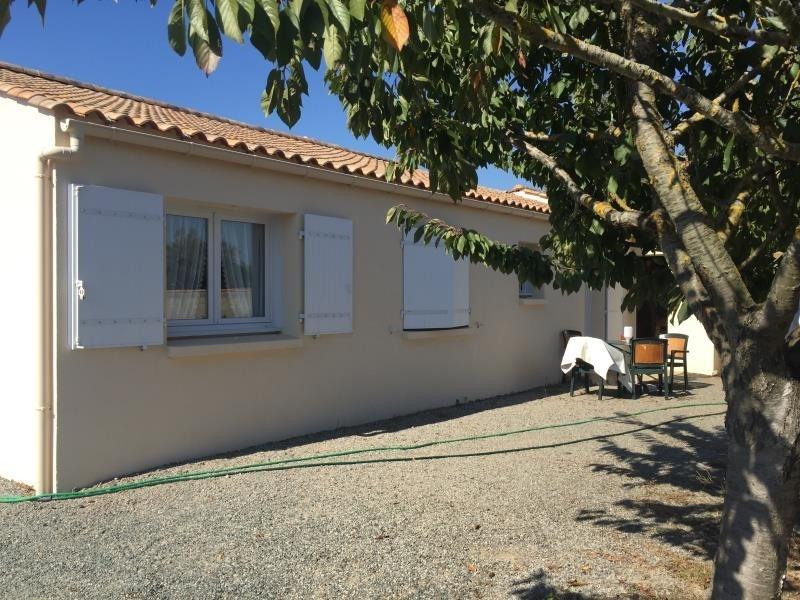 Sale house / villa St vincent sur jard 208000€ - Picture 5