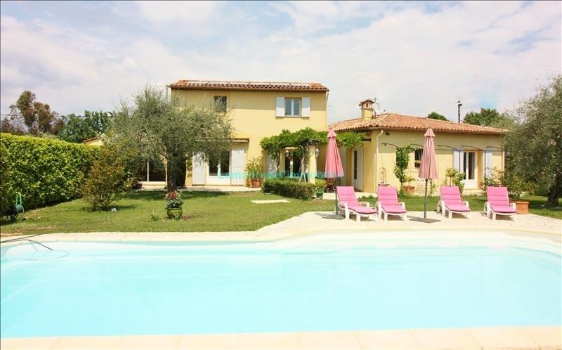 Vente de prestige maison / villa Saint cezaire sur siagne 624000€ - Photo 1