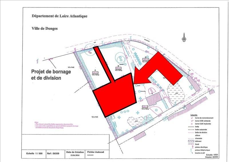 Vente terrain Donges 52000€ - Photo 2