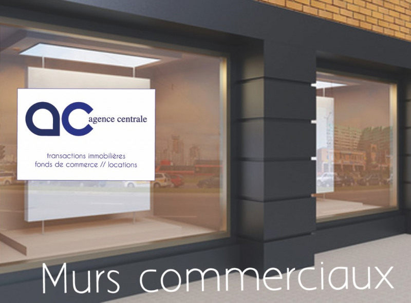 Local commercial de 55 m², grande vitrine