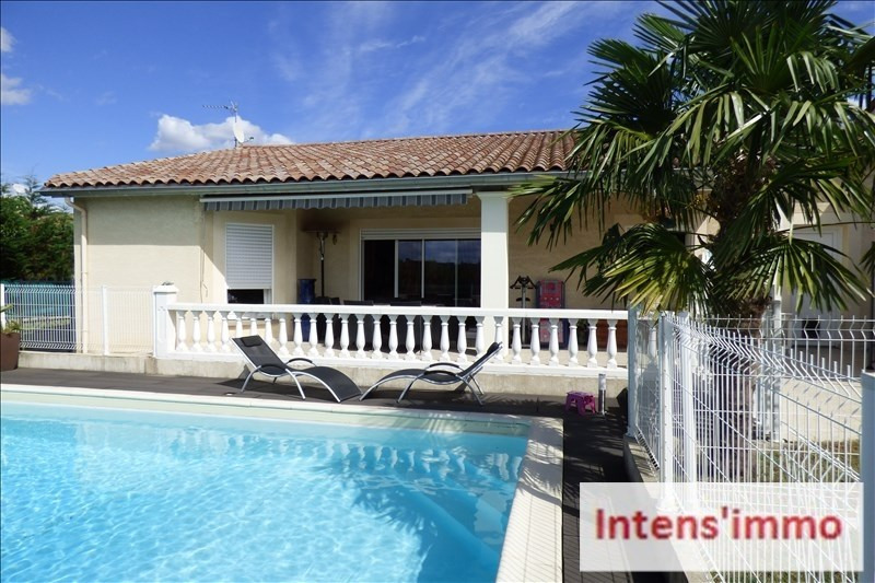 Sale house / villa Mours st eusebe 299000€ - Picture 1