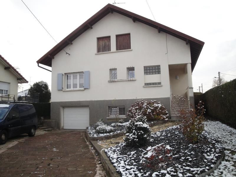 Vente maison / villa Audincourt 169 000€ - Photo 1