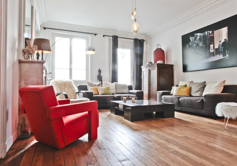 Vente de prestige appartement Paris 16ème 1 890 000€ - Photo 2
