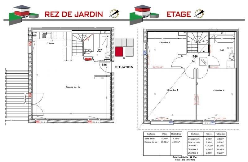Vente maison / villa Jons 276800€ - Photo 5