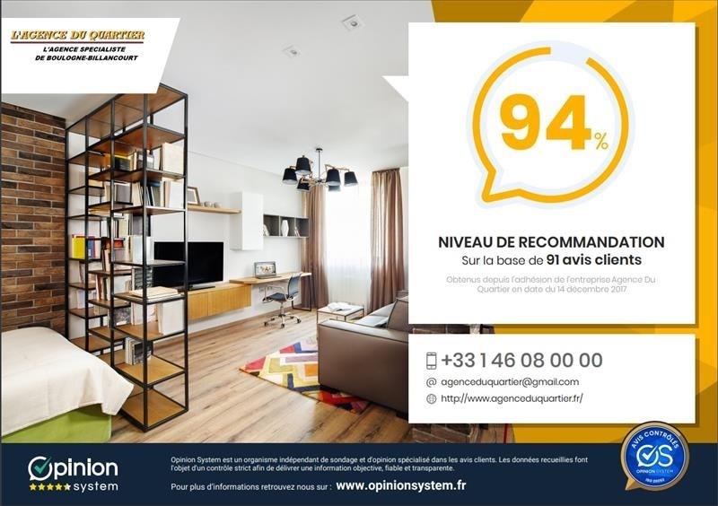 Vente appartement Boulogne billancourt 374000€ - Photo 6