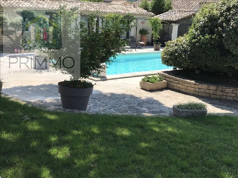 Deluxe sale house / villa Cavaillon 575000€ - Picture 1