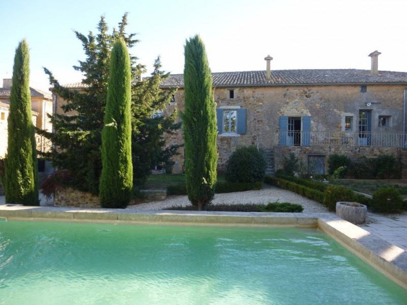 Deluxe sale house / villa Uzes 1 390 000€ - Picture 1