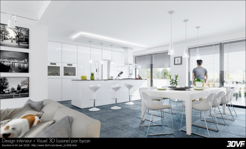Sale house / villa Andrésy 353000€ - Picture 5