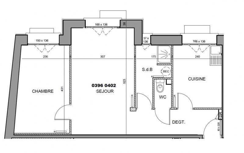 Rental apartment Boulogne-billancourt 1095,92€ CC - Picture 5