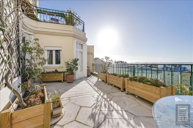Rental apartment Paris 18ème 4800€ CC - Picture 1
