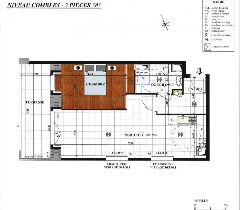 Vente appartement Sainte-geneviève-des-bois 228000€ - Photo 2