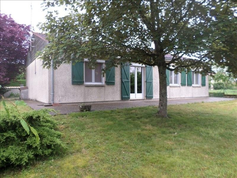 Vente maison / villa Lussac les chateaux 125500€ - Photo 1