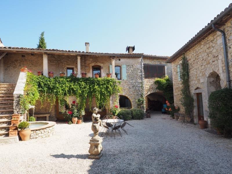 Immobile residenziali di prestigio casa Uzes 897750€ - Fotografia 2