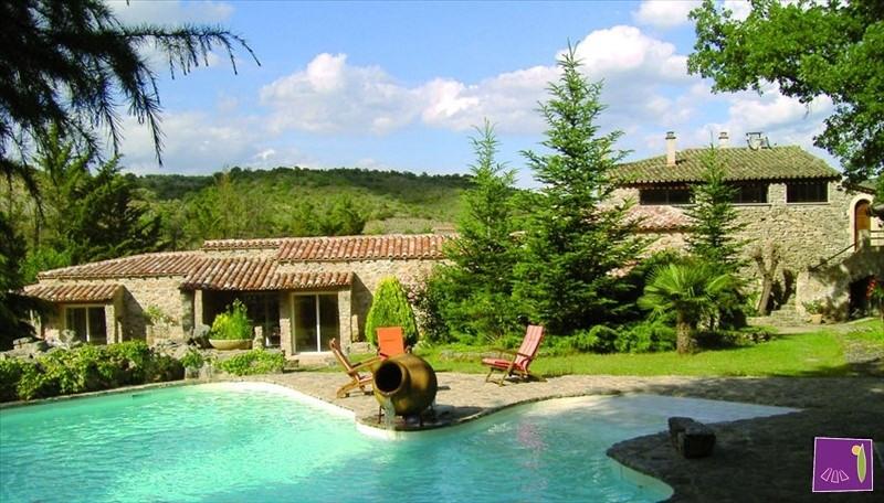 Vente de prestige maison / villa Barjac 690000€ - Photo 1