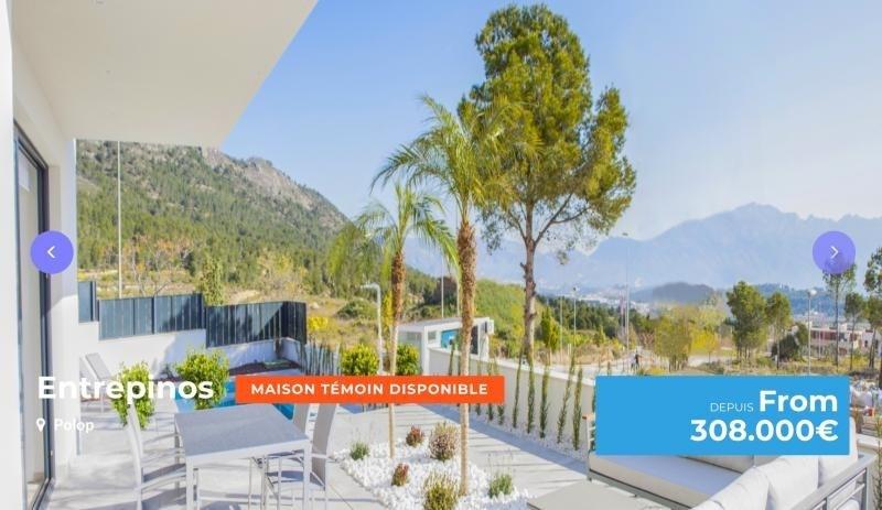 Deluxe sale house / villa Province d'alicante 308000€ - Picture 1