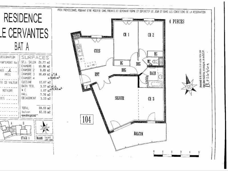 Location appartement Dijon 839€ CC - Photo 8