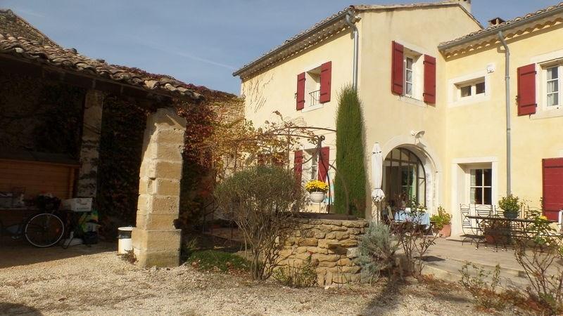 Vente maison / villa Suze-la-rousse 418000€ - Photo 1