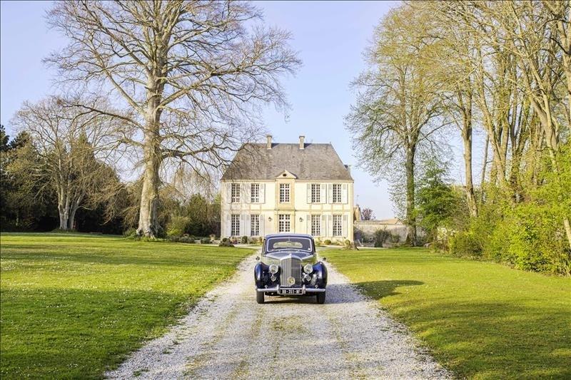Revenda residencial de prestígio castelo Gonneville en auge 936000€ - Fotografia 1