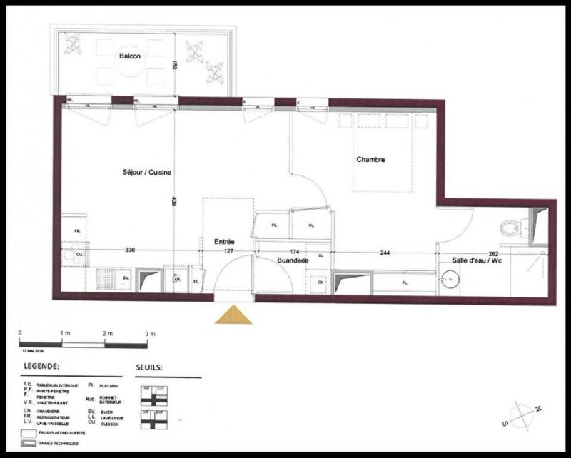 Venta  apartamento Le teich 192000€ - Fotografía 1