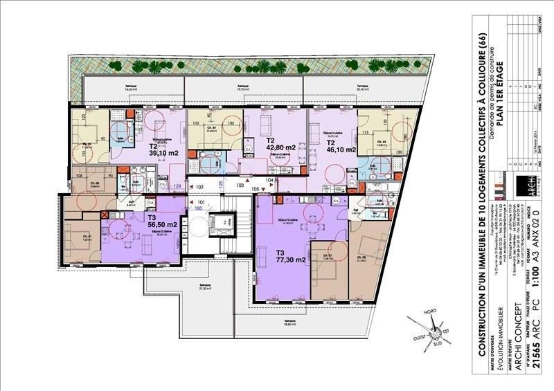 Sale apartment Collioure 231360€ - Picture 12