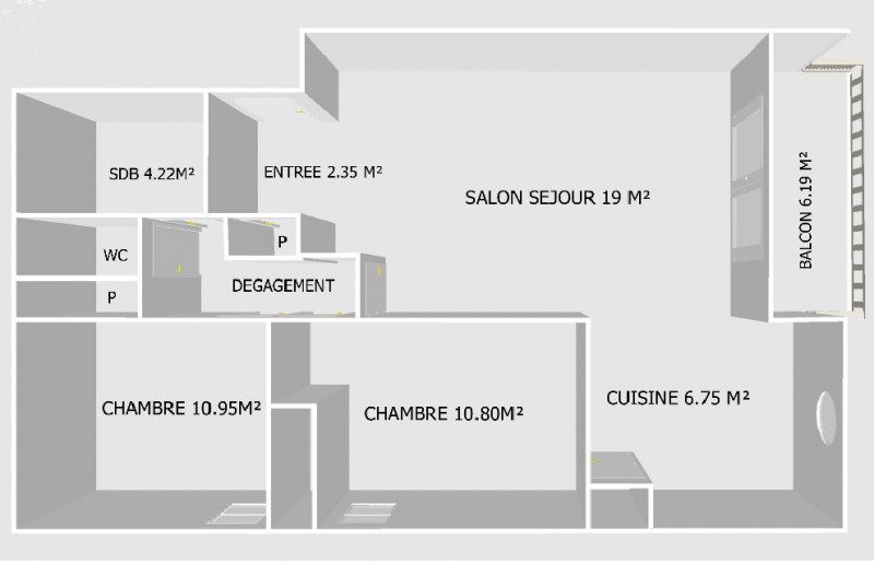 Vente appartement Nimes 79900€ - Photo 4