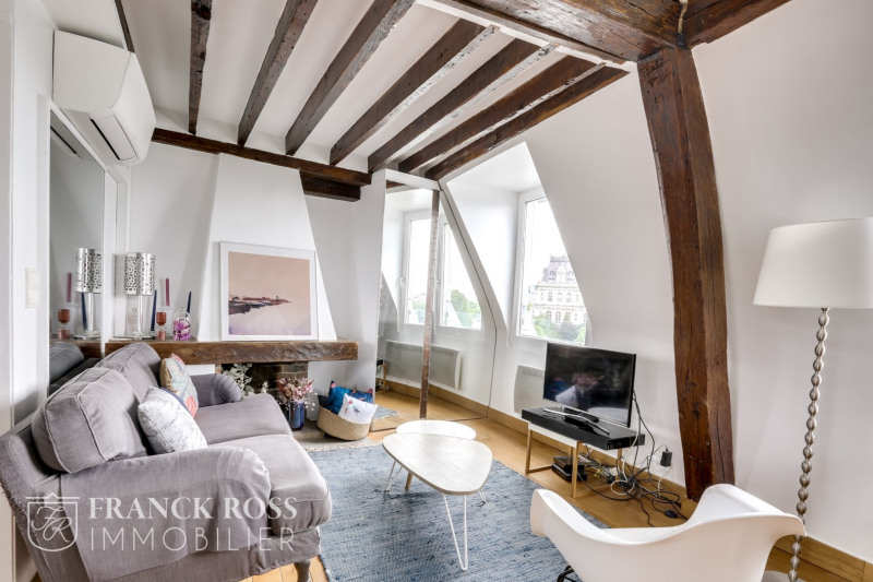 Rental apartment Paris 4ème 2990€ CC - Picture 2
