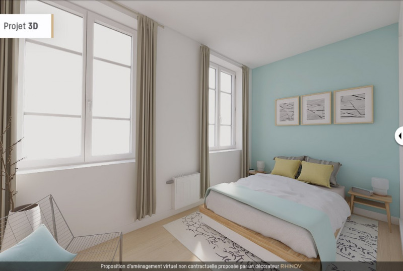 Sale apartment Lyon 6ème 210000€ - Picture 3