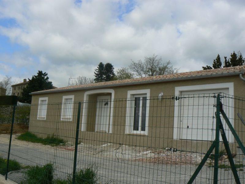 Villa de plain pied T4 avec jardin