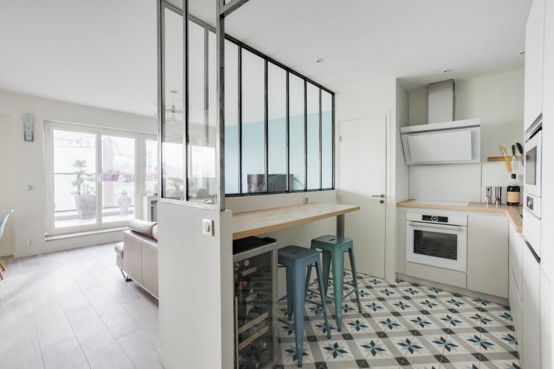 Vente de prestige appartement Paris 16ème 1300000€ - Photo 4