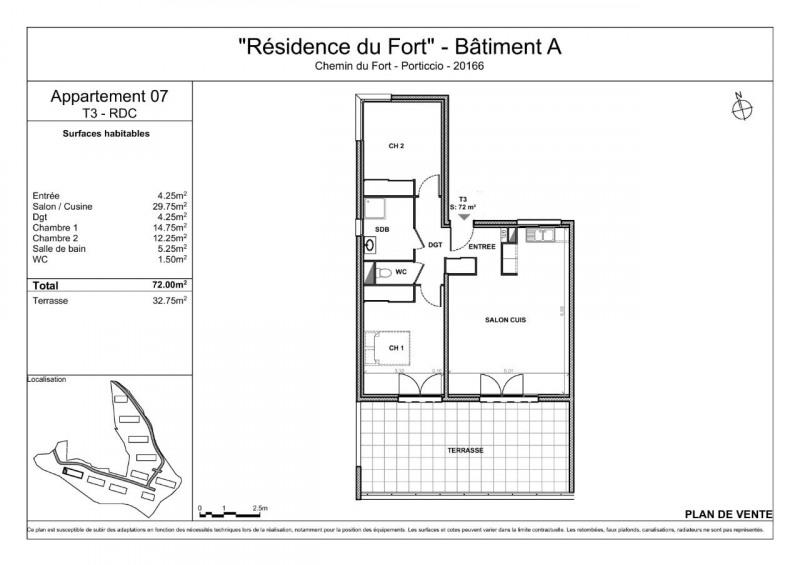 Vente appartement Porticcio (pietrosella) 315000€ - Photo 2