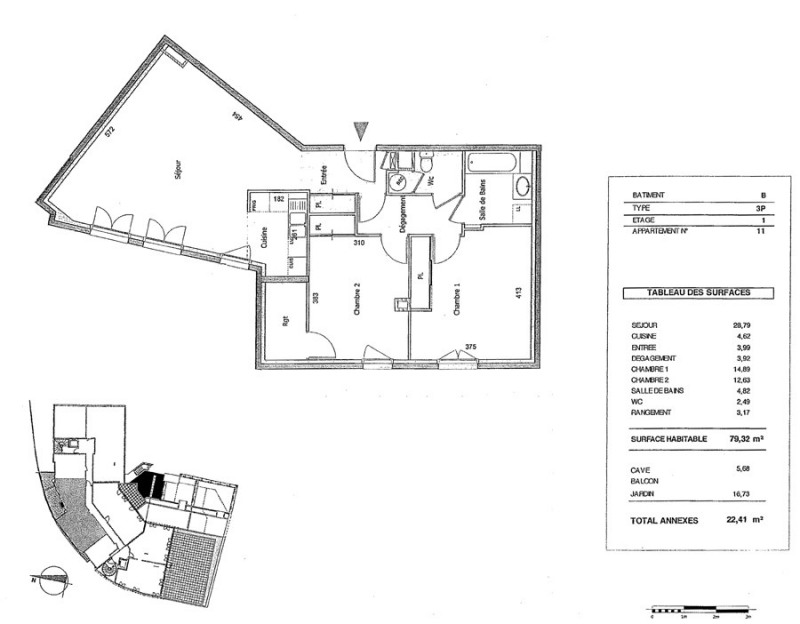 Sale apartment Saint didier au mont d'or 337000€ - Picture 14