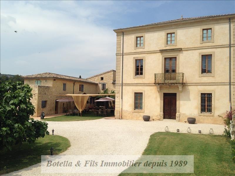 Vente de prestige maison / villa Uzes 1320000€ - Photo 1
