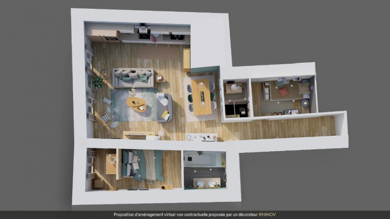 Vente appartement Nice 385000€ - Photo 7