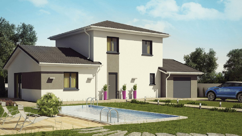 Vente maison / villa Péronnas 243700€ - Photo 1