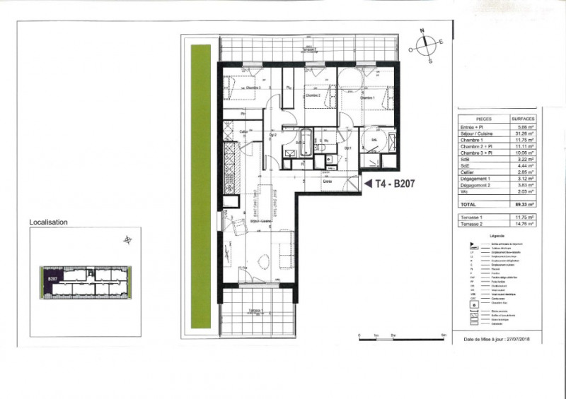 Vente appartement Olonne sur mer 323000€ - Photo 3