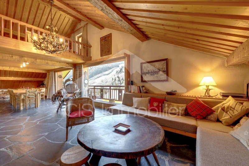 Deluxe sale apartment Meribel 2 500 000€ - Picture 1